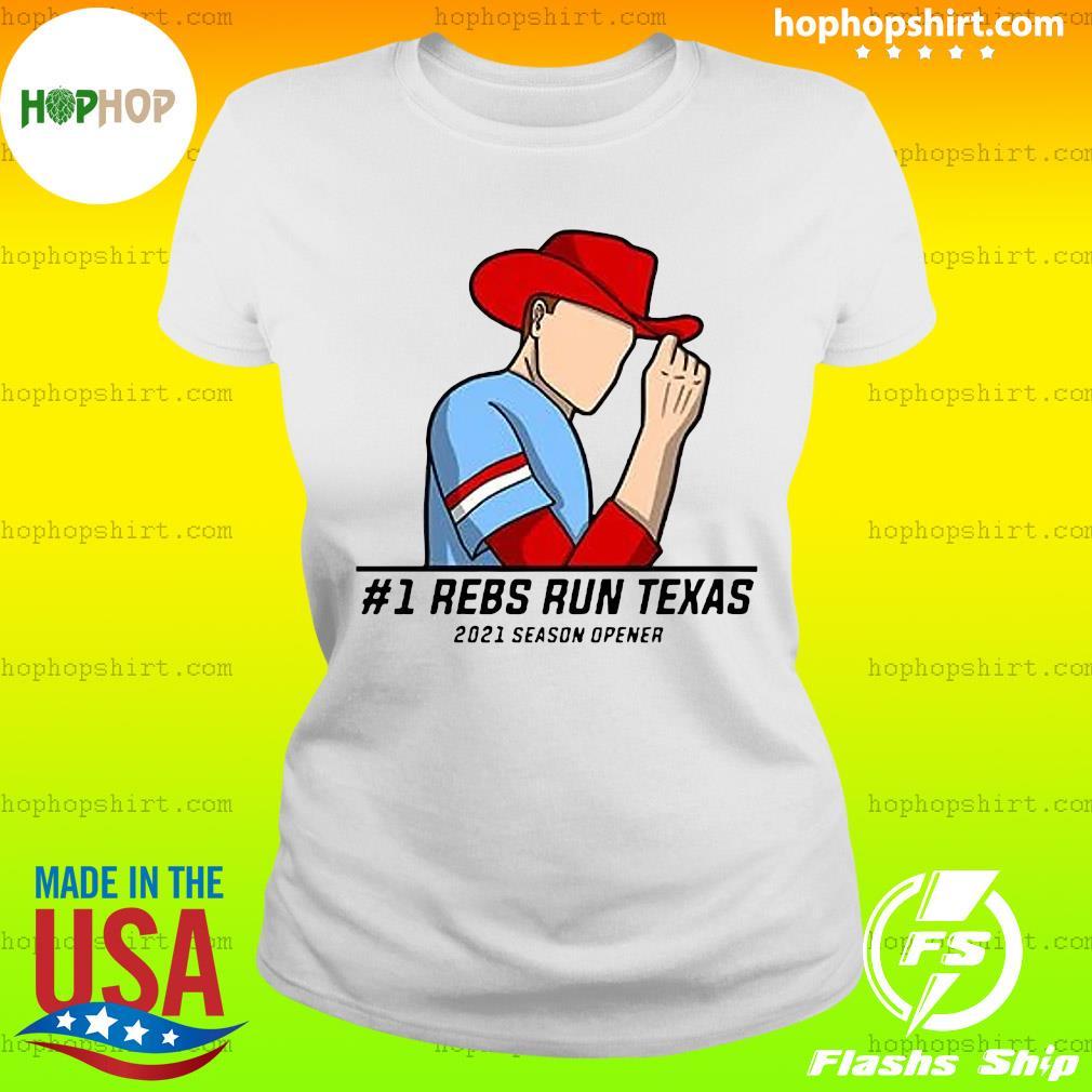 #1 Reps Run Texas 2021 Season Opener Shirt Ladies Tee