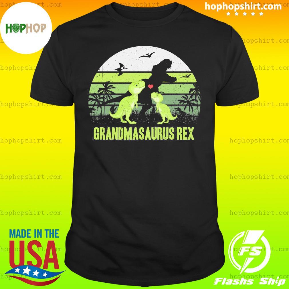 Dinosaur T-rex Grandmasaurus Rex Vintage Retro Shirt