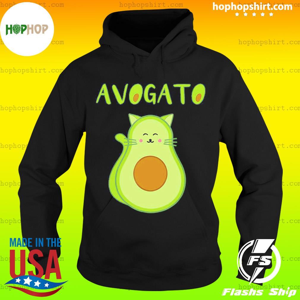 Cat Avocado Avogato Shirt Hoodie