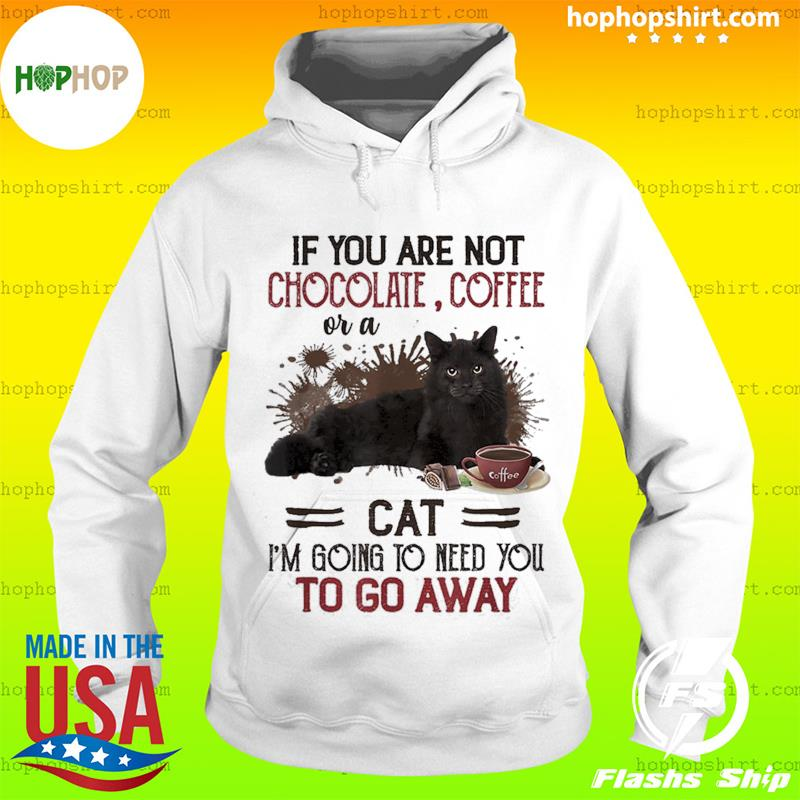 If You Are Not Chocolate Coffee Or A Cat I'm Going To Need You To Go Away T-Shirt Hoodie