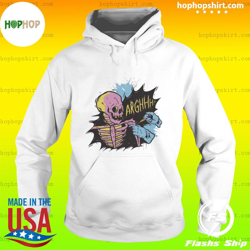 Skeleton Vaccinated Shirt, Spooky Mom, Halloween Costumes Hoodie
