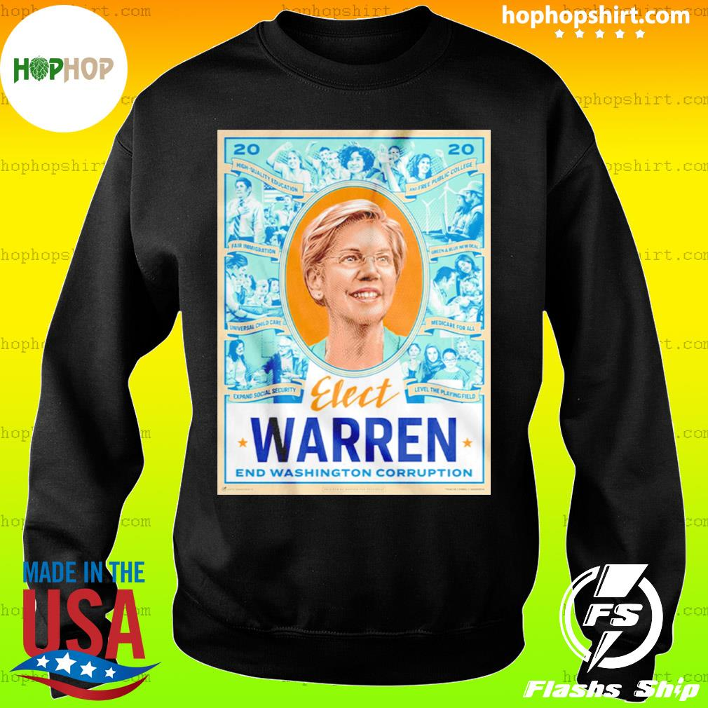 Elect Warren End Washington Corruption s Sweater