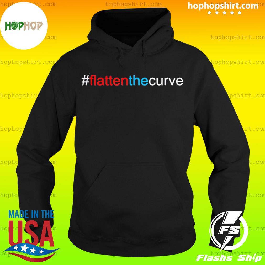 #FlattenTheCurve Flatten The Curve Virus Prevention Shirt Hoodie