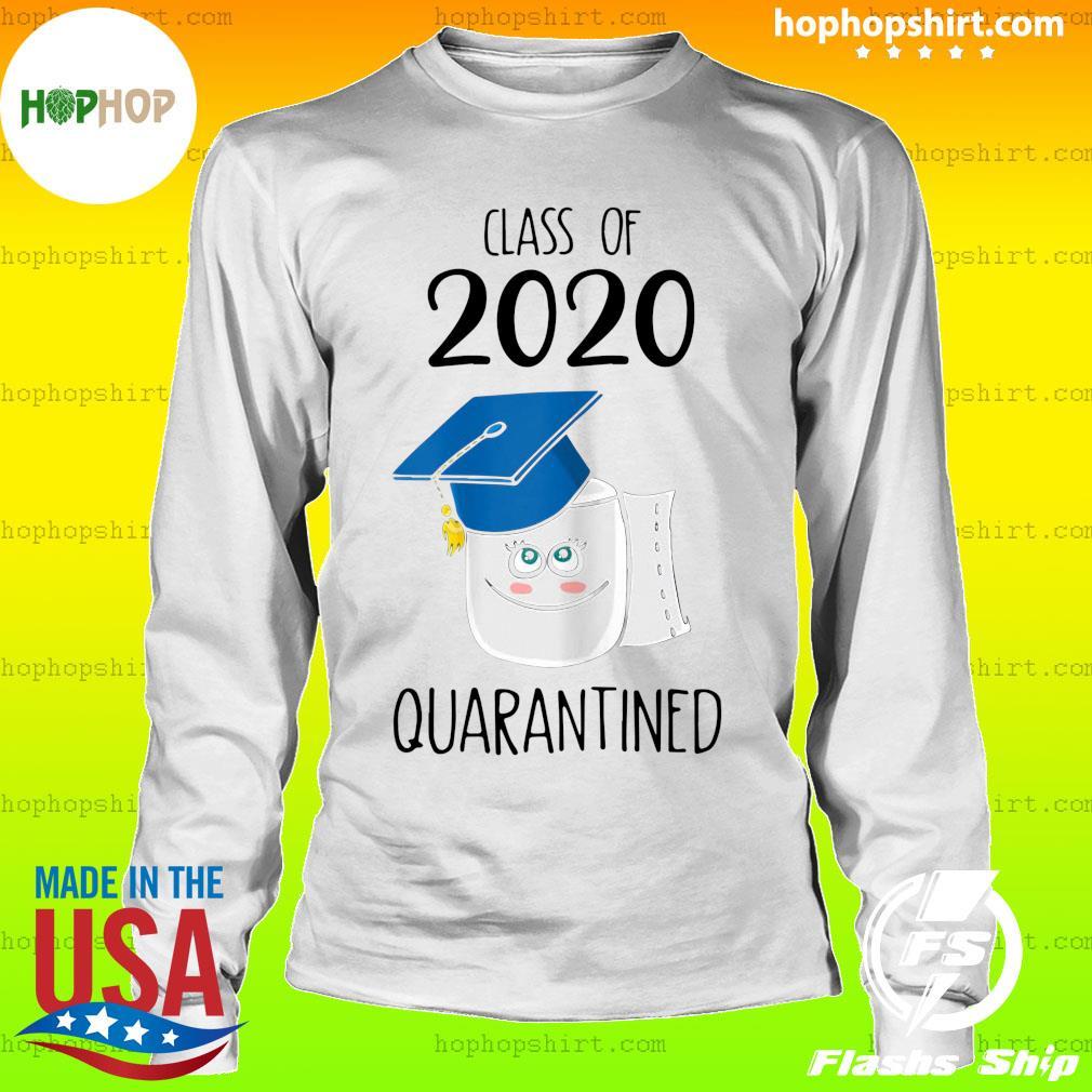 Funny Class Of 2020 Graduating Class In Quarantine School Shirt LongSleeve