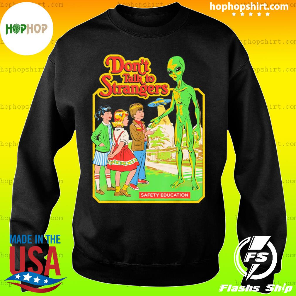 Let's Play Don't Talk Strangers Vintage s Sweater