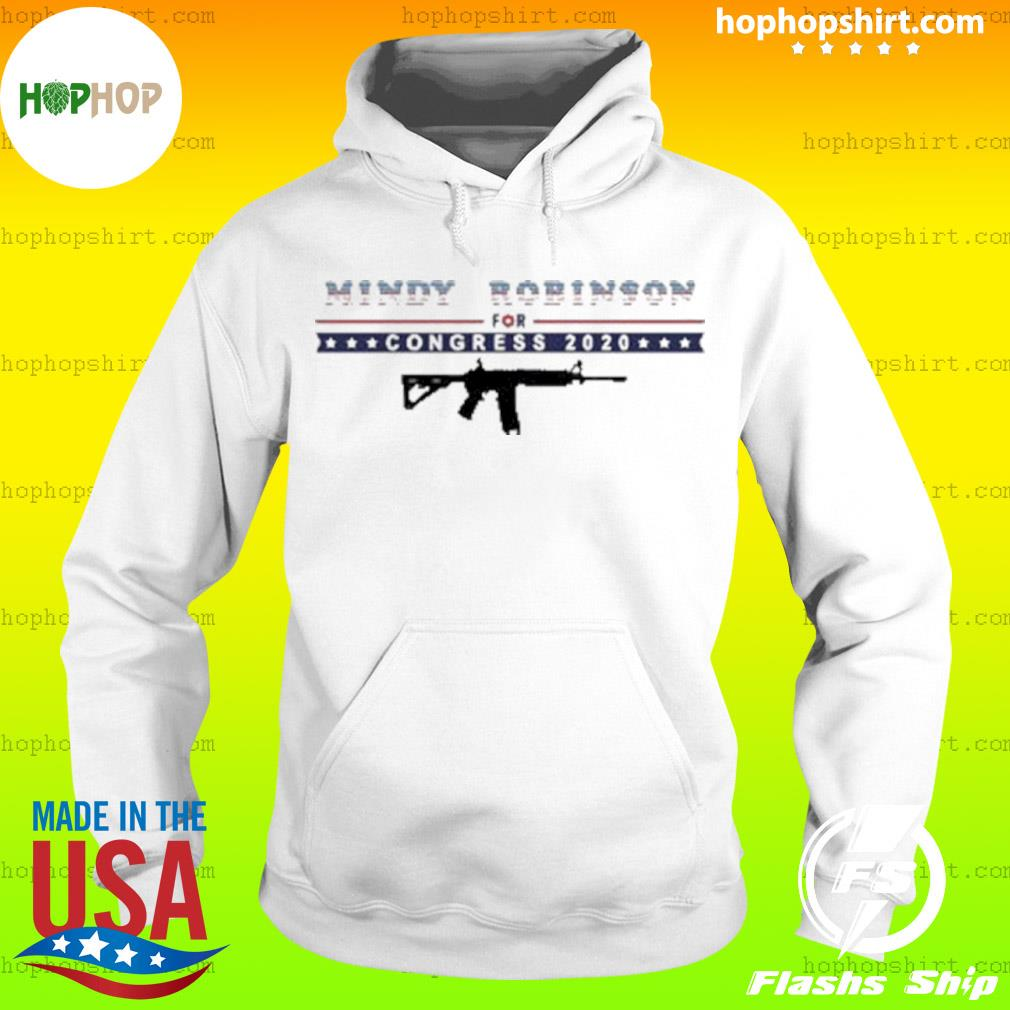Mindy Robinson for Congress 2020 AR-15 s Hoodie