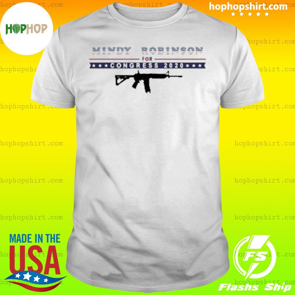Mindy Robinson for Congress 2020 AR-15 shirt