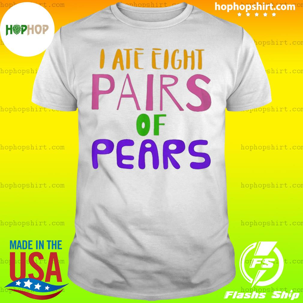 Pairs Of Pears Grammar Teacher Visualized shirt
