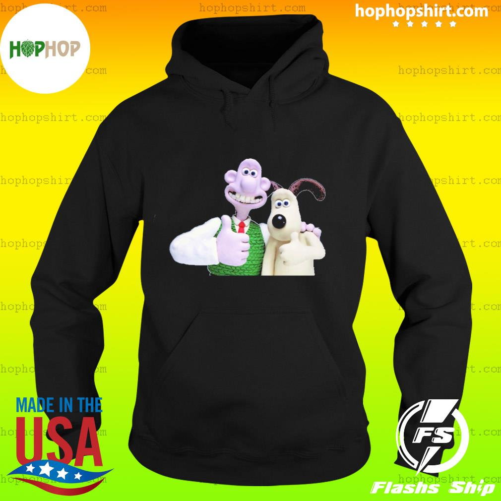 wallace and gromit s Hoodie