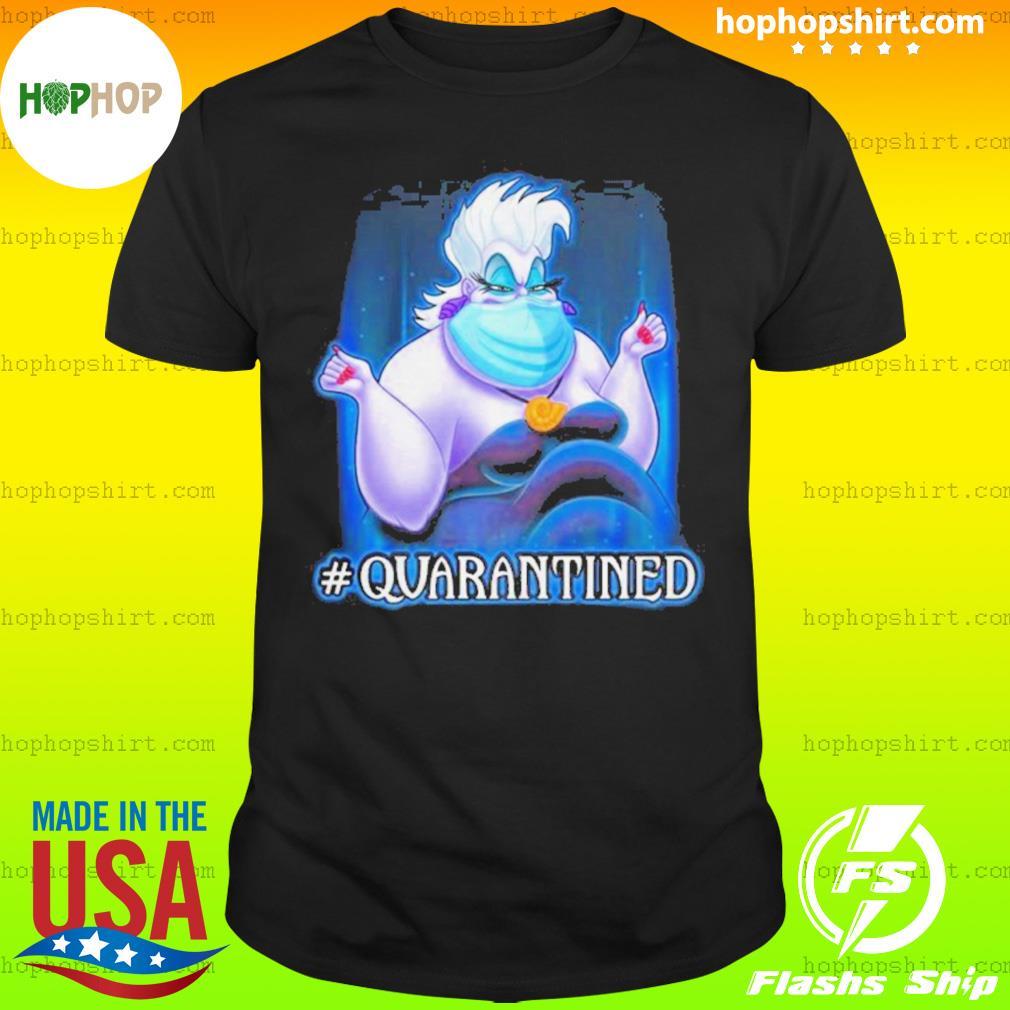 Ursula face mask quarantined shirt