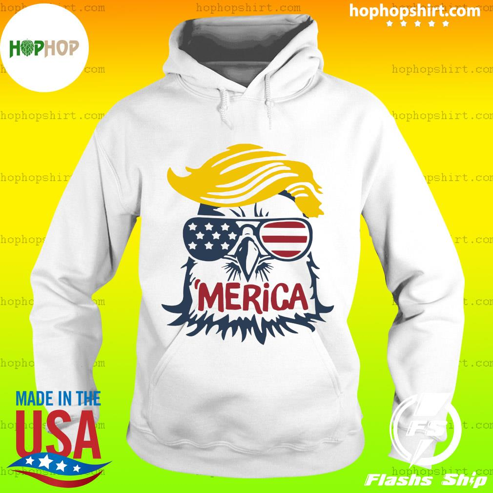 Donald Trump Eagle Merica Shirt Hoodie