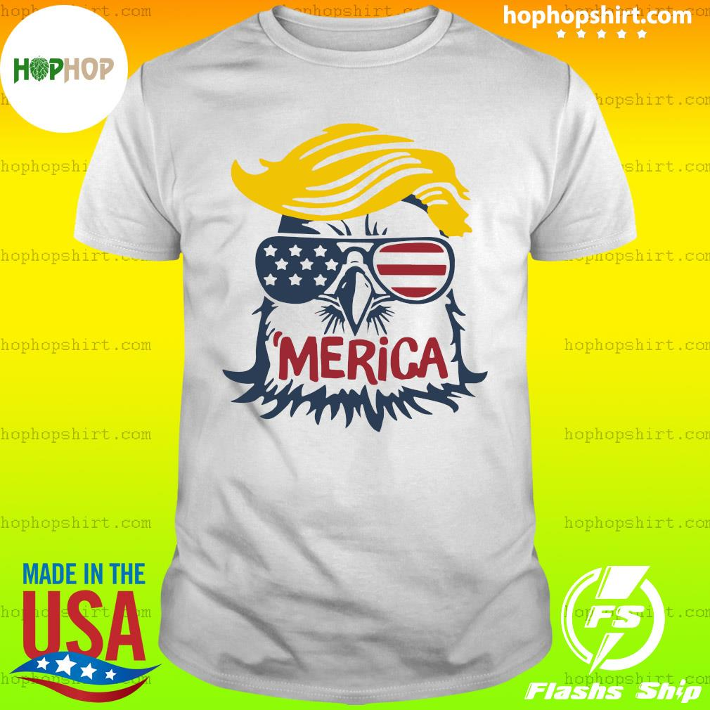 Donald Trump Eagle Merica Shirt
