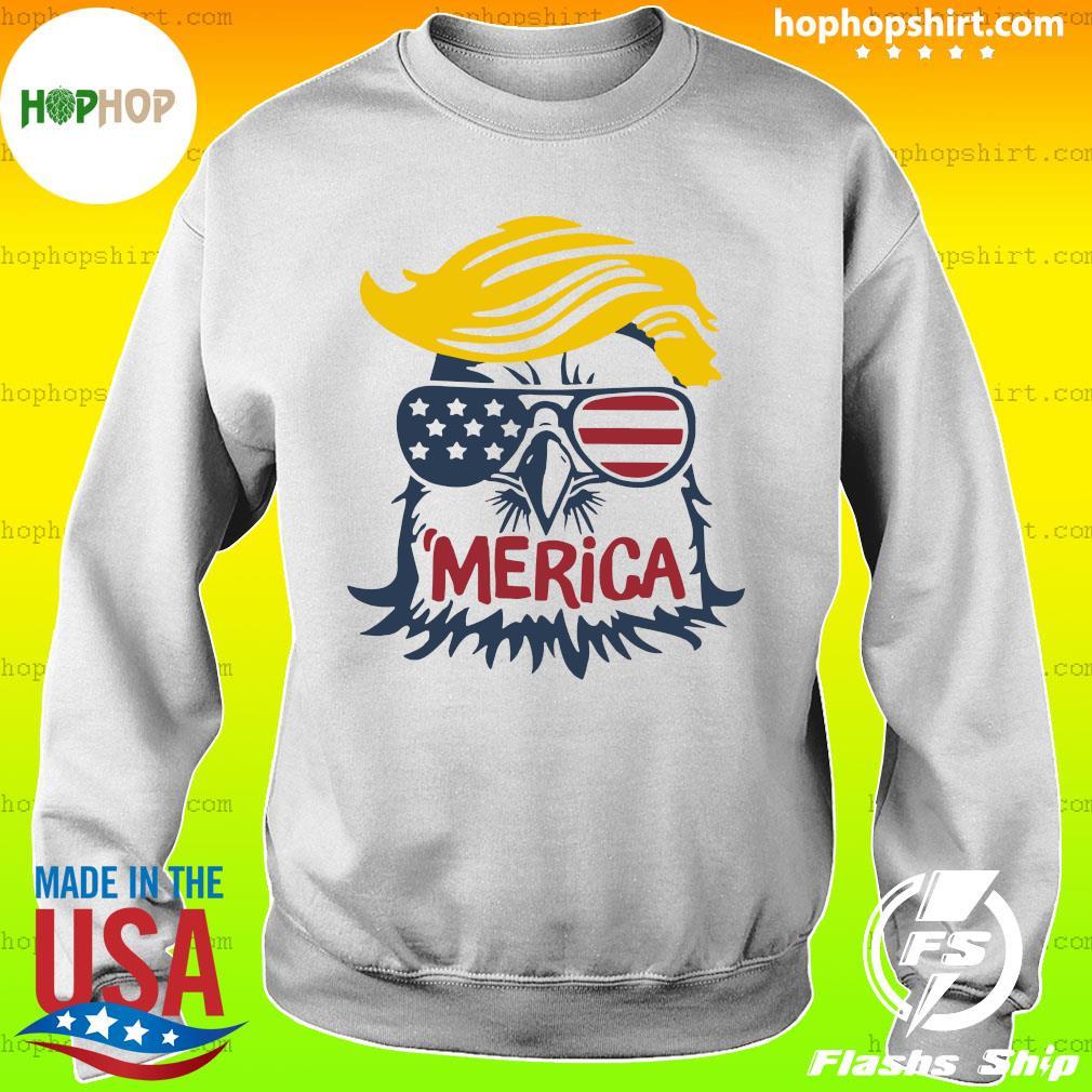 Donald Trump Eagle Merica Shirt Sweater