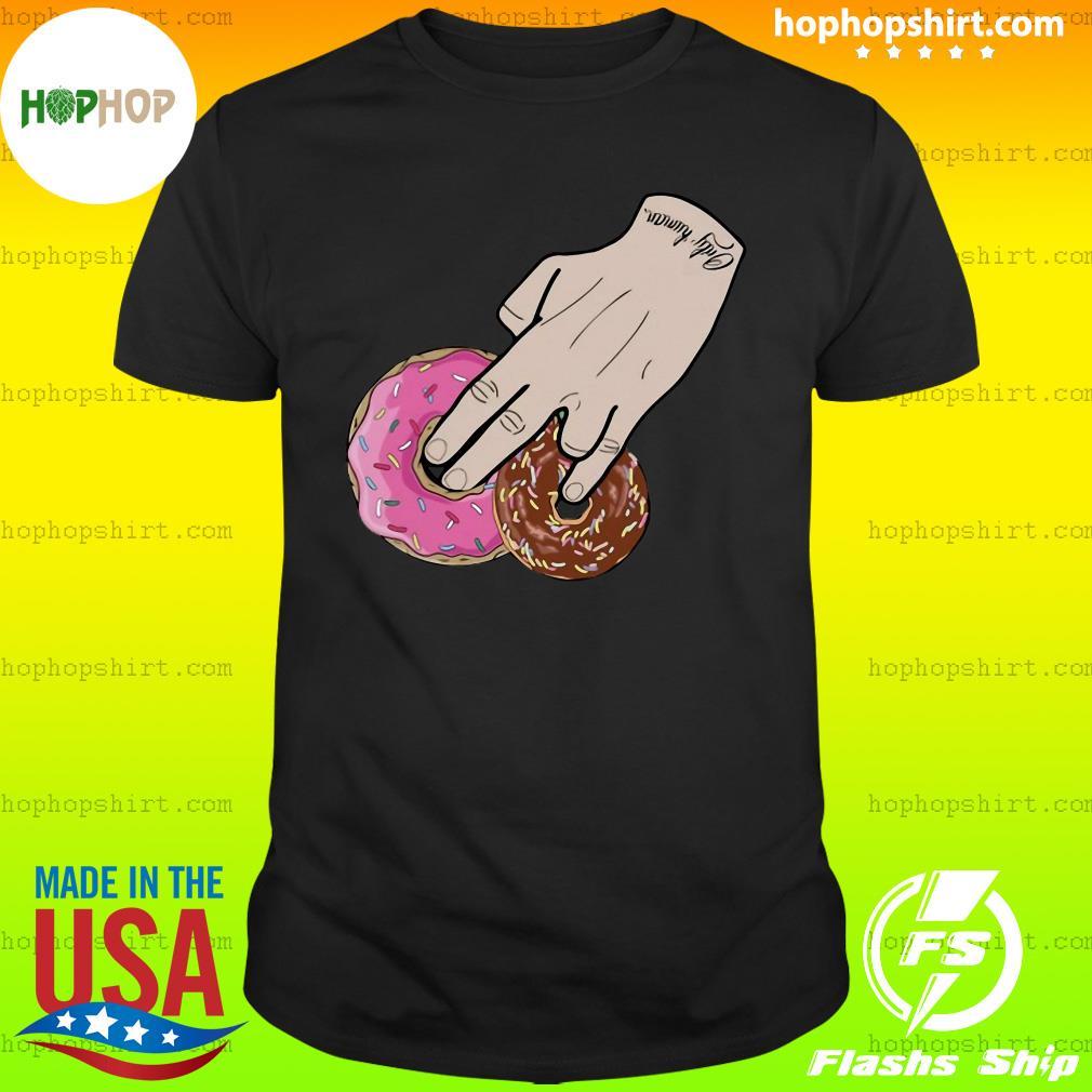 Dunkin Donuts Only Human Hand 2020 Shirt