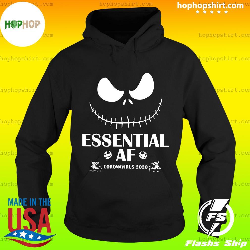Jack Skellington Essential Af Coronavirus 2020 Shirt Hoodie