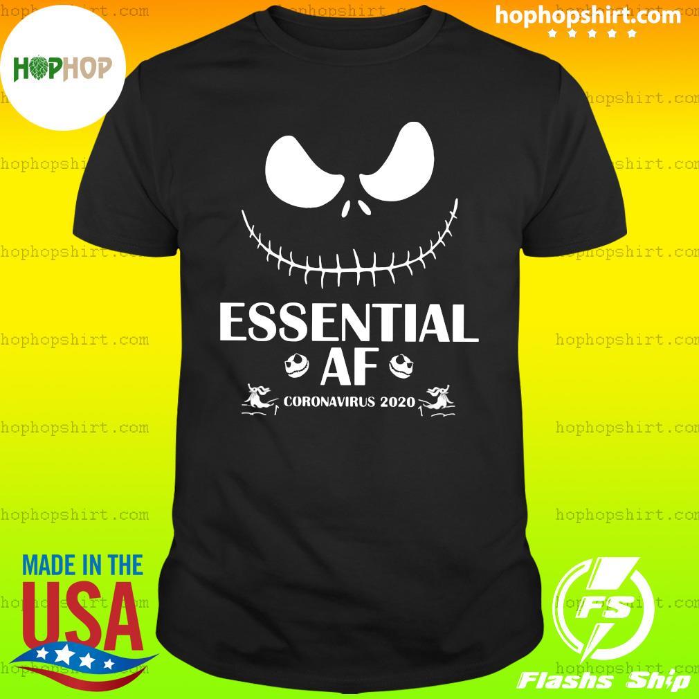 Jack Skellington Essential Af Coronavirus 2020 Shirt