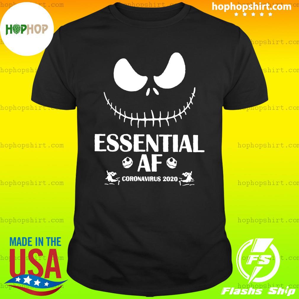 Jack Skellington Essential Of Coronavirus 2020 Shirt