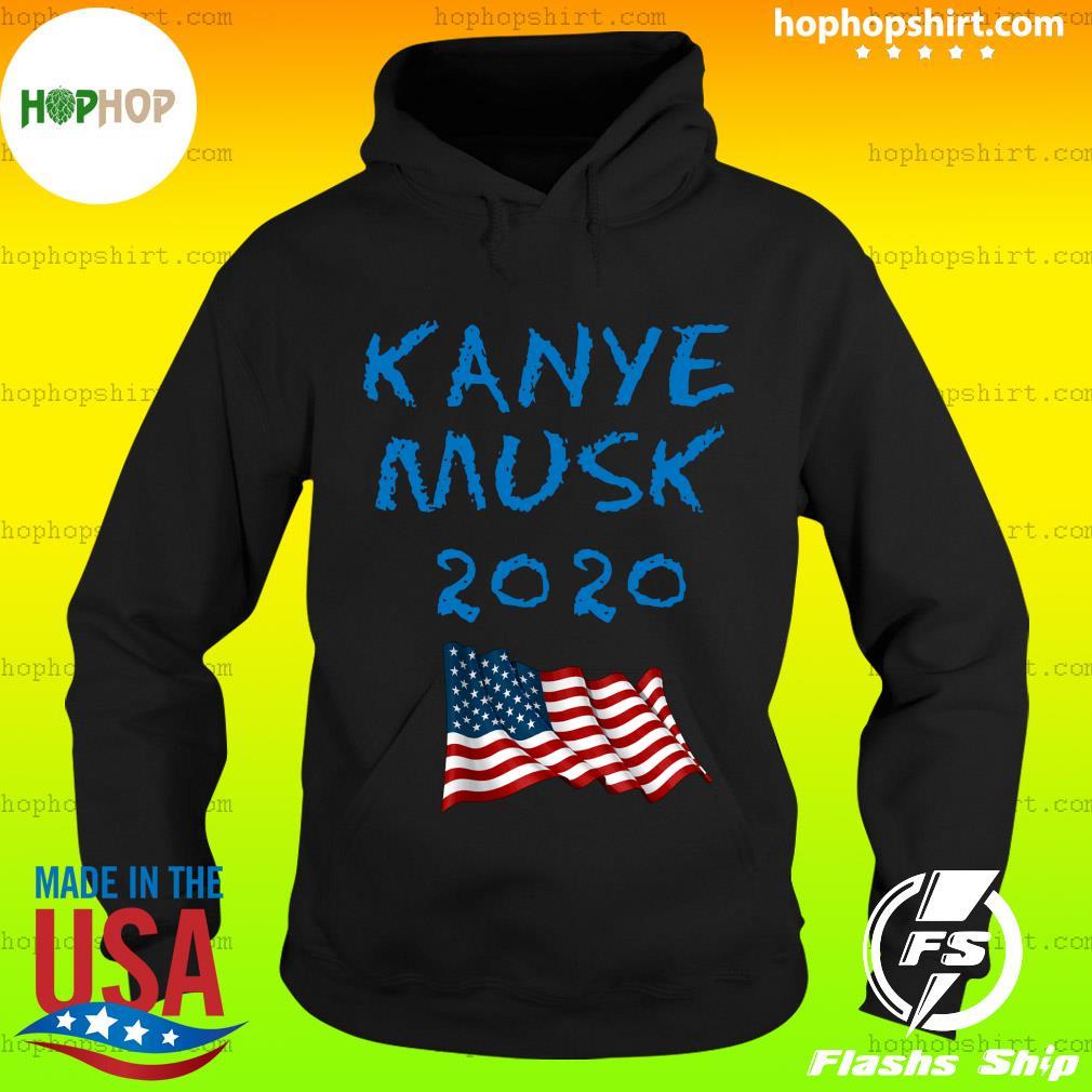 Kanye Musk 2020 American Flag Shirt Hoodie