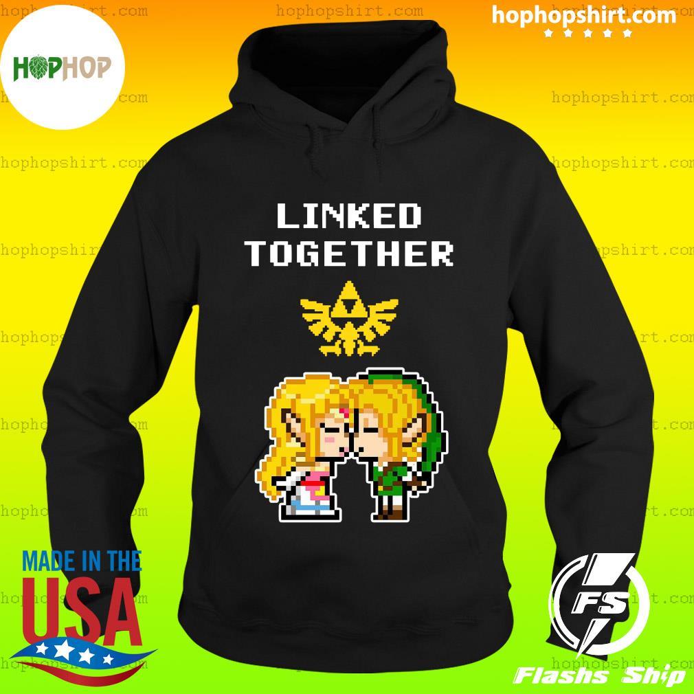 Linked Together Zelda X Link Shirt Hoodie