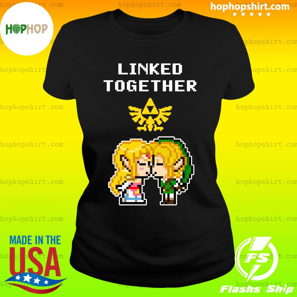 Linked Together Zelda X Link Shirt Ladies Tee