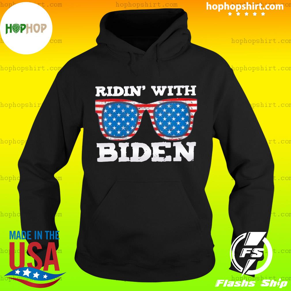 Ridin With Biden Joe Supporter USA Classic T-Shirt Hoodie