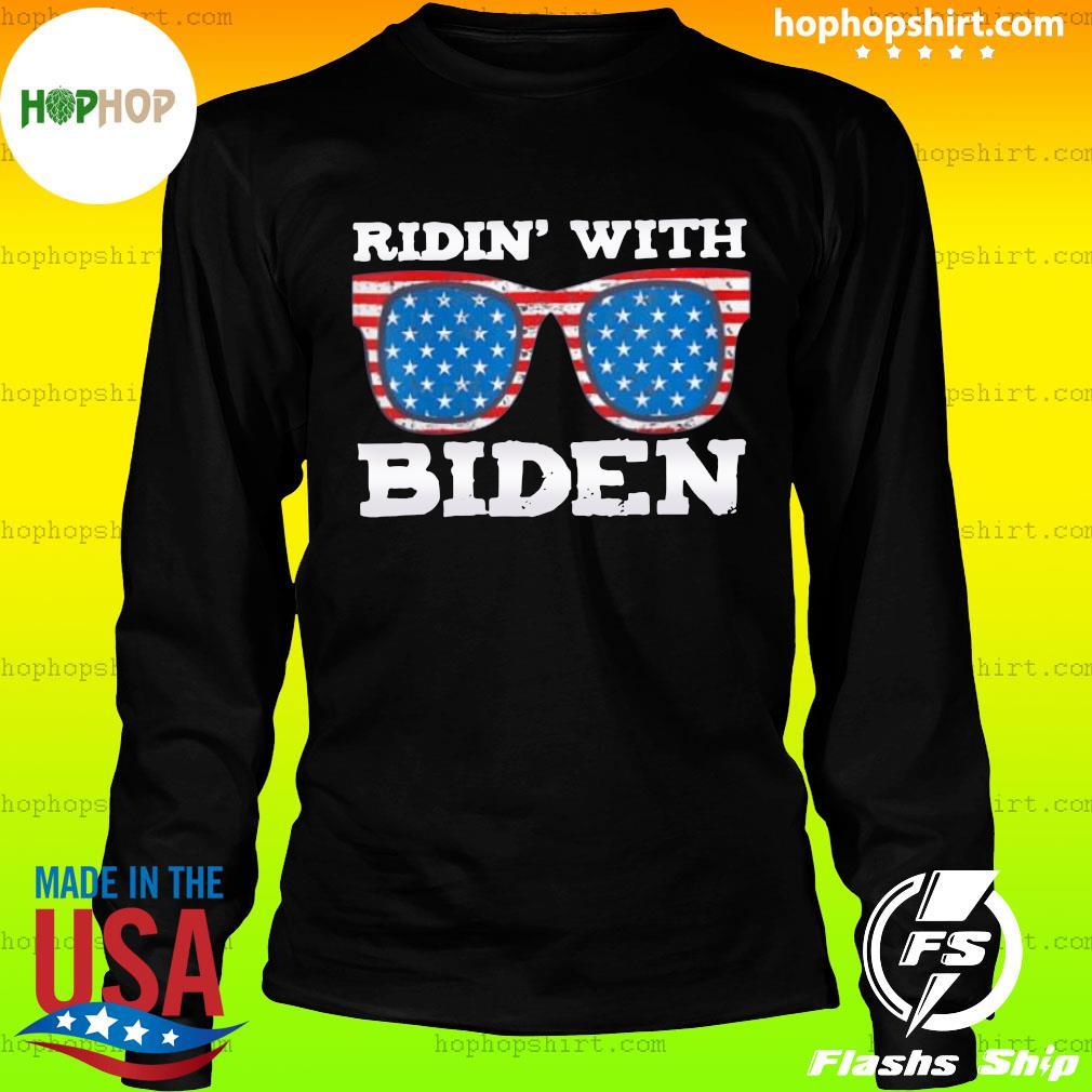 Ridin With Biden Joe Supporter USA Classic T-Shirt LongSleeve