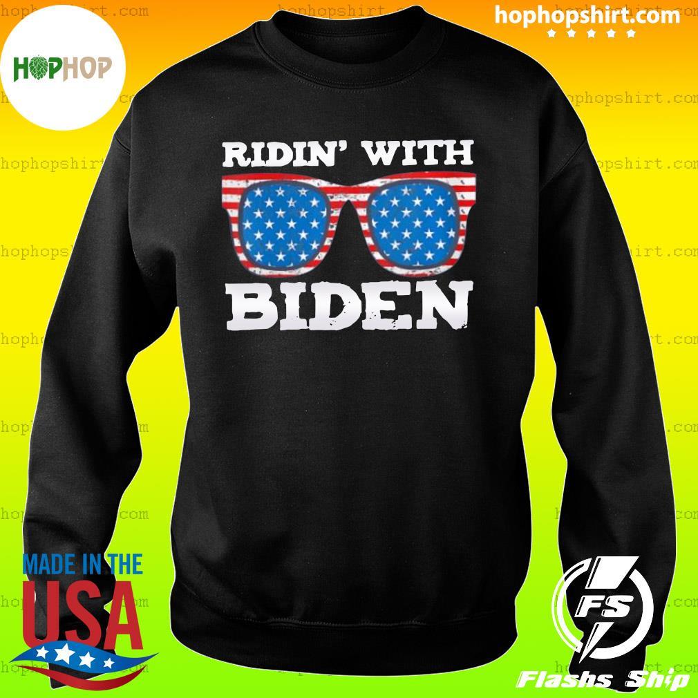 Ridin With Biden Joe Supporter USA Classic T-Shirt Sweater