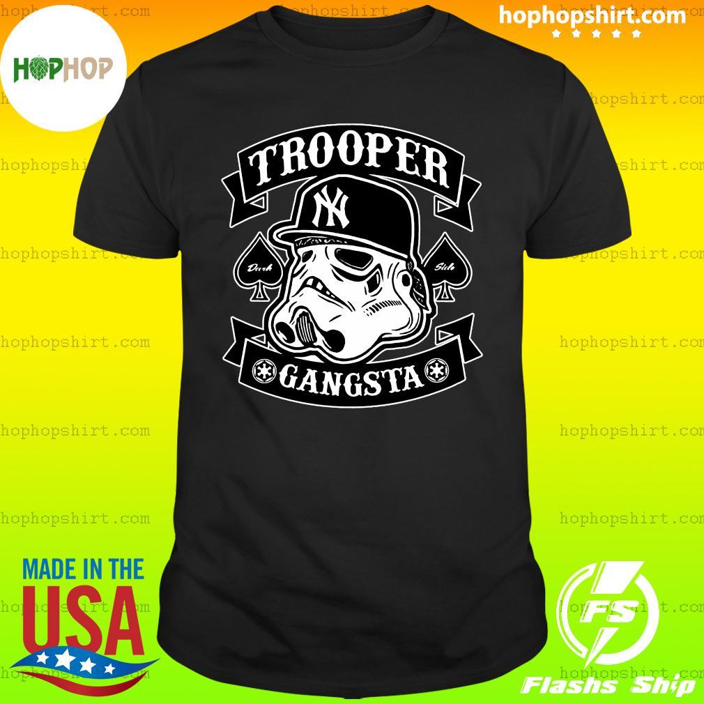 Star War New York Trooper Gangsta Shirt