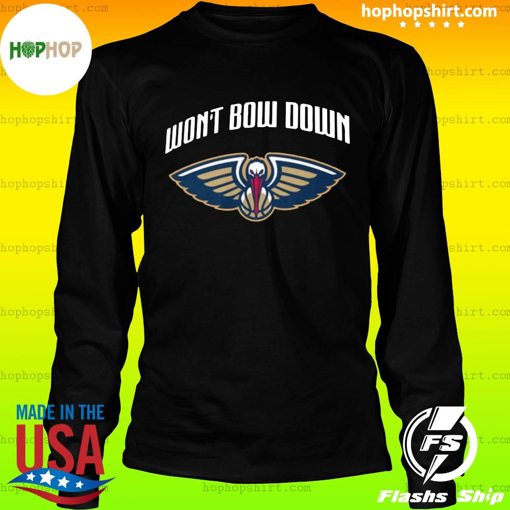 Won't bow down official new orleans pelicans s LongSleeve