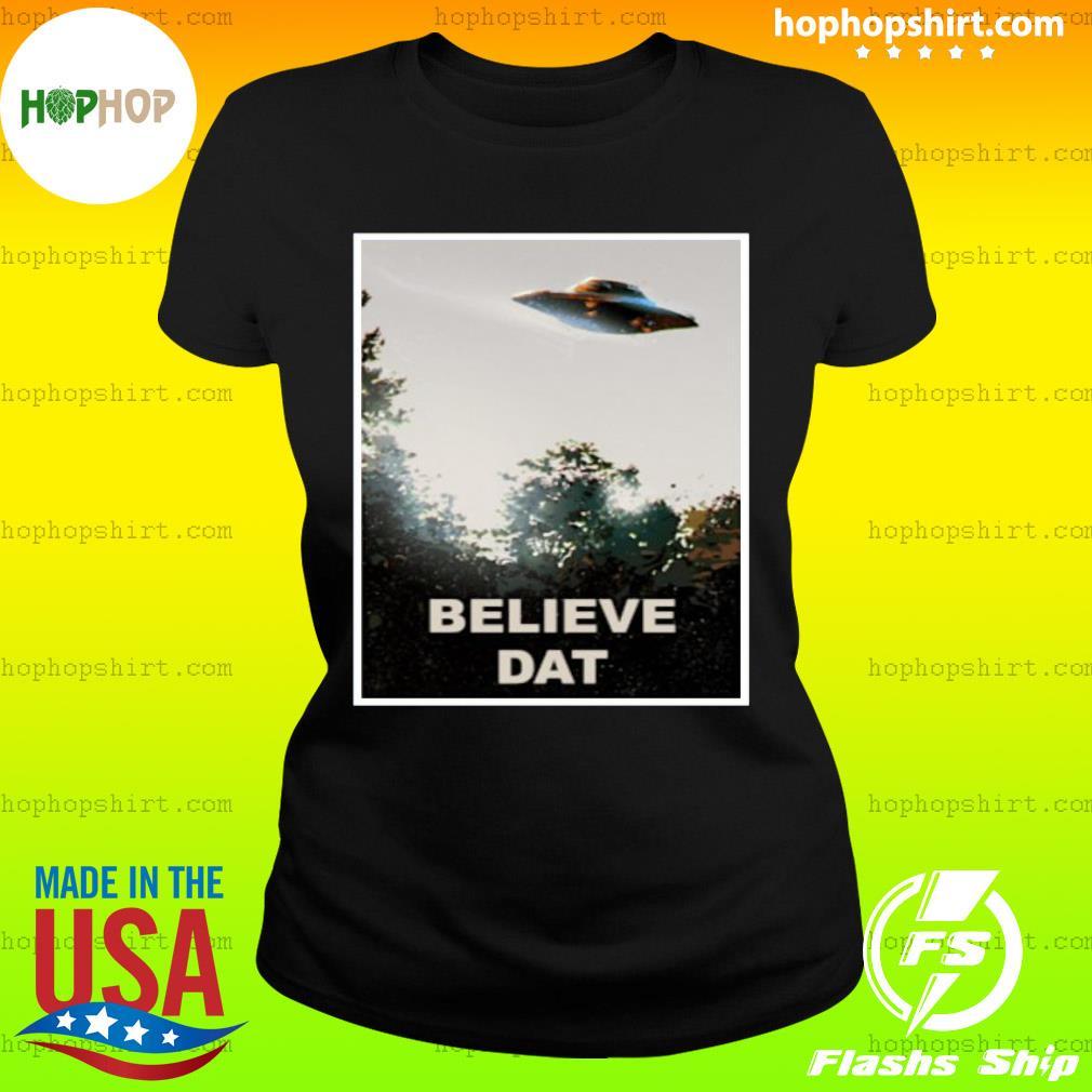 Believe DAT Official T-Shirt Ladies Tee
