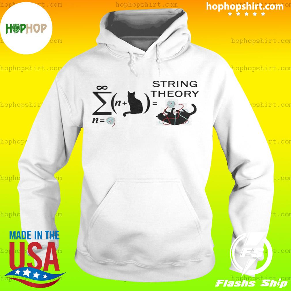 Cat String Theory s Hoodie