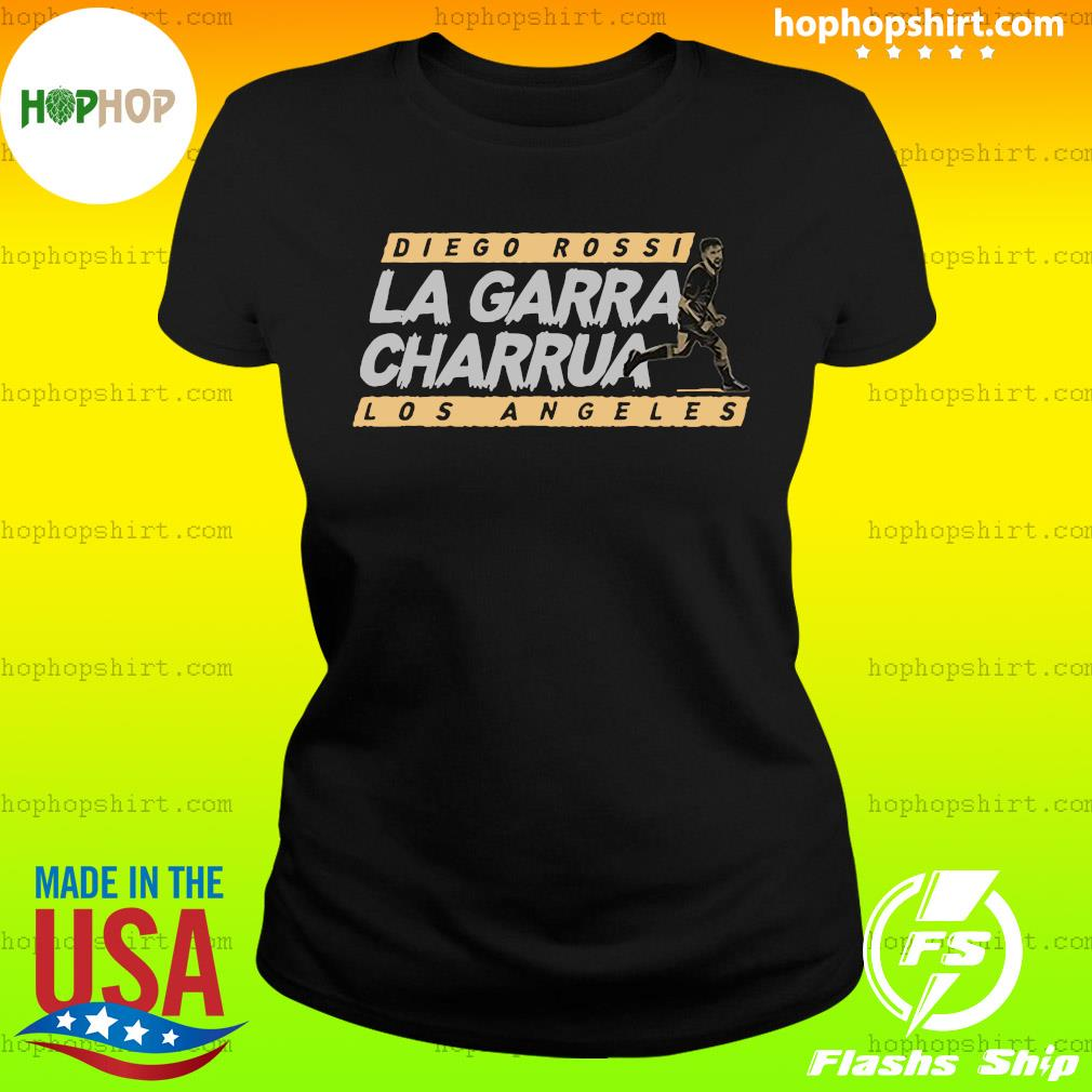 Diego Rossi la garra charrua Los Angeles official s Ladies Tee