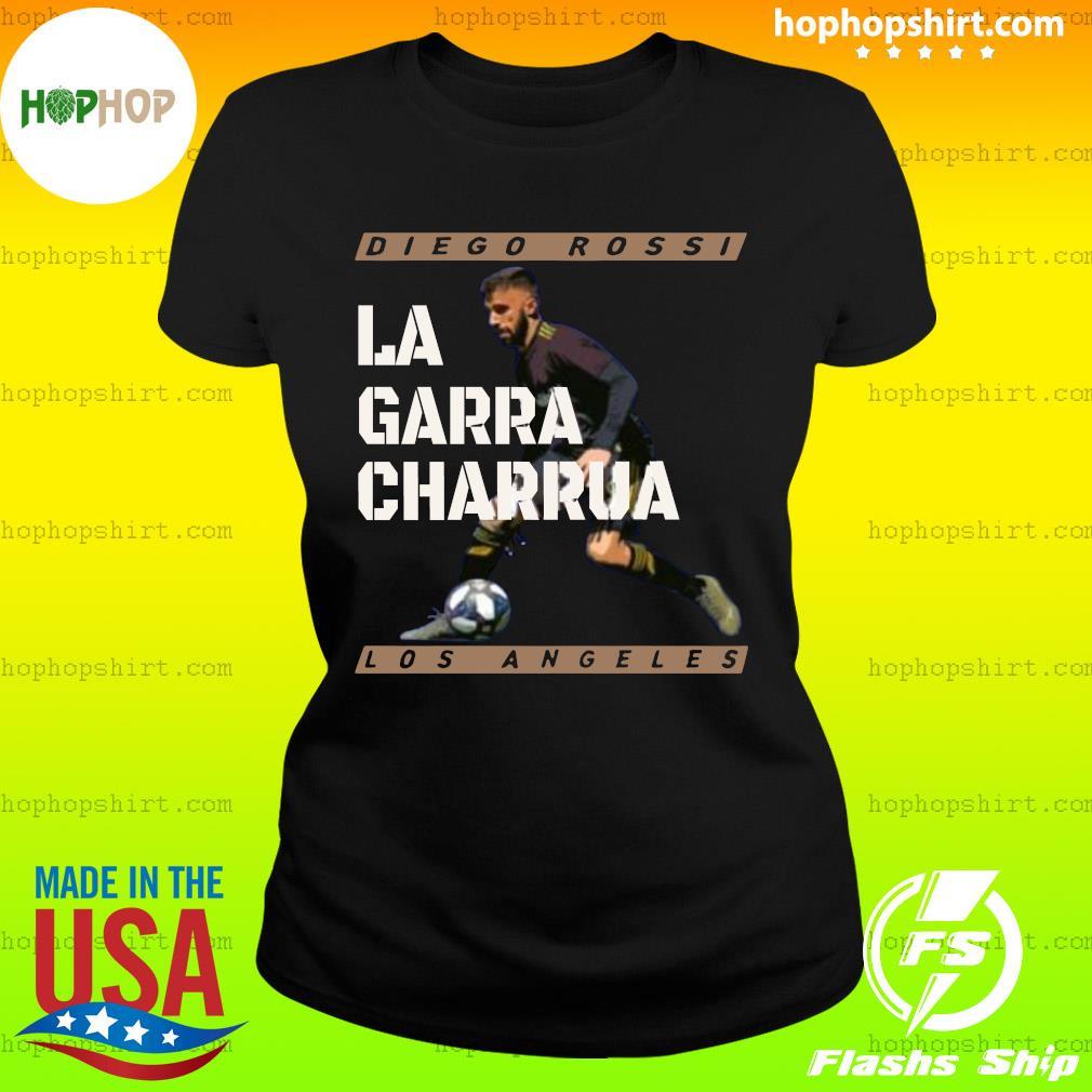 Diego Rossi La Garra Charrua Los Angeles Shirt Ladies Tee
