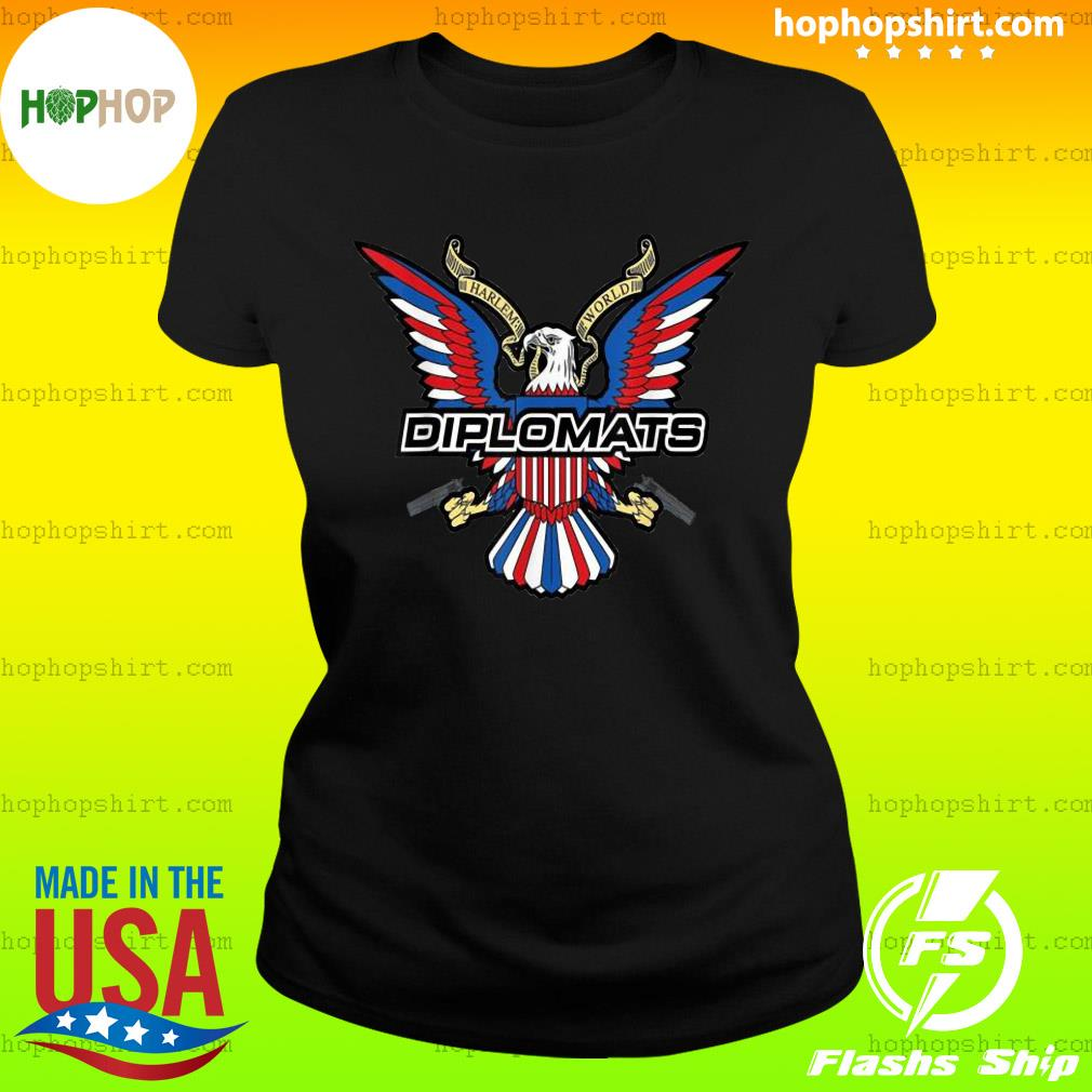 Diplomats Dipset Official T-Shirt Ladies Tee