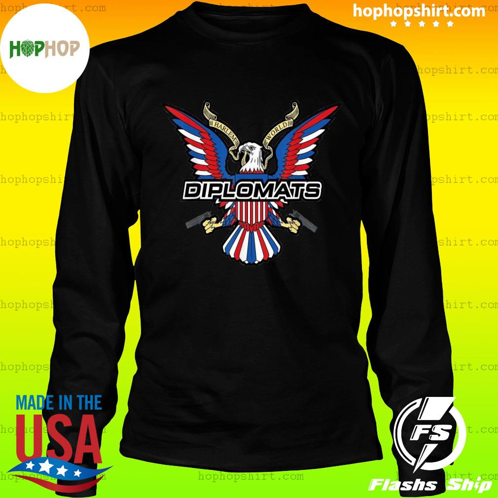 Diplomats Dipset Official T-Shirt LongSleeve