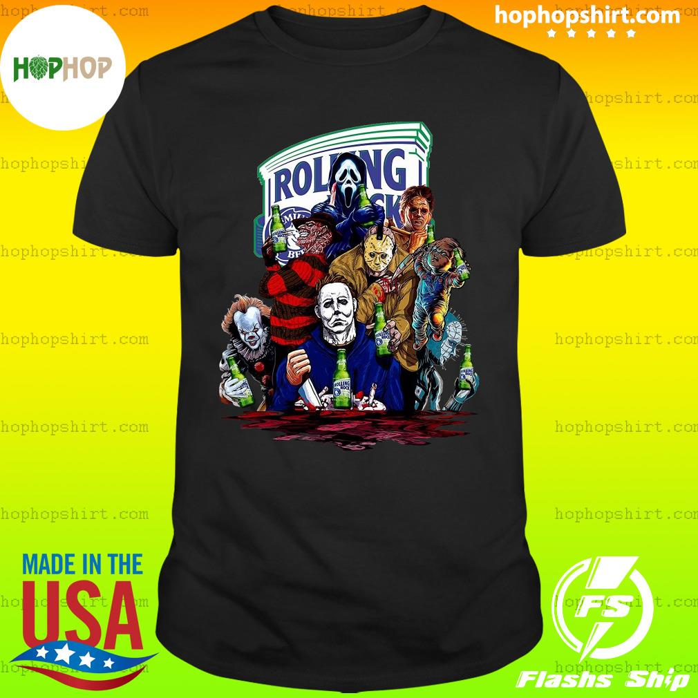 Horror Character Rolling Rock Shirt