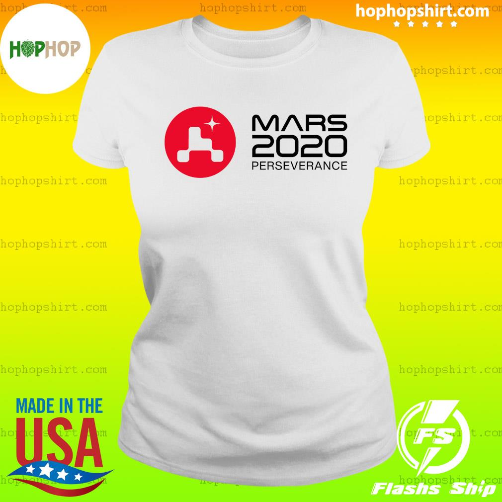 Mars 2020 Perseverance Rover Launch Day Commemorative Official T-Shirt Ladies Tee