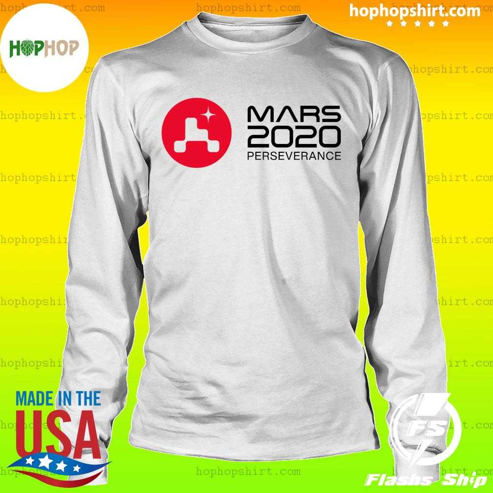 Mars 2020 Perseverance Rover Launch Day Commemorative Official T-Shirt LongSleeve