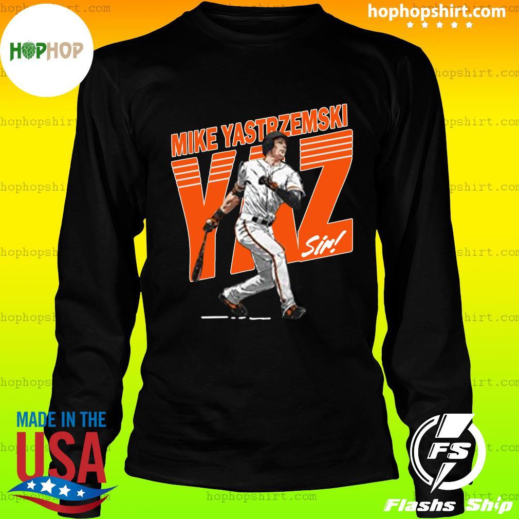 Mike Yastrzemski Tee San Francisco Baseball Mike Yastrzemski YAZ Shirt LongSleeve