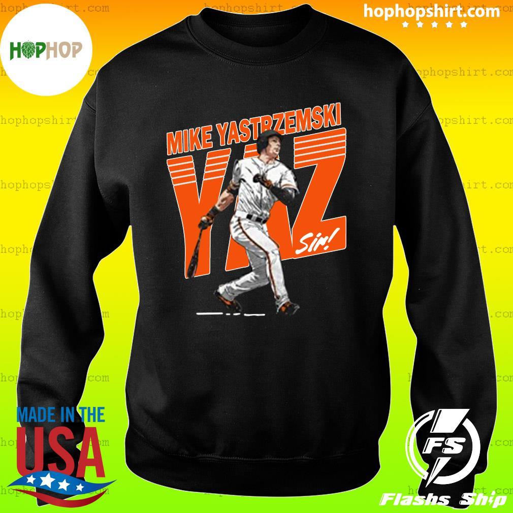 Mike Yastrzemski Tee San Francisco Baseball Mike Yastrzemski YAZ Shirt Sweater