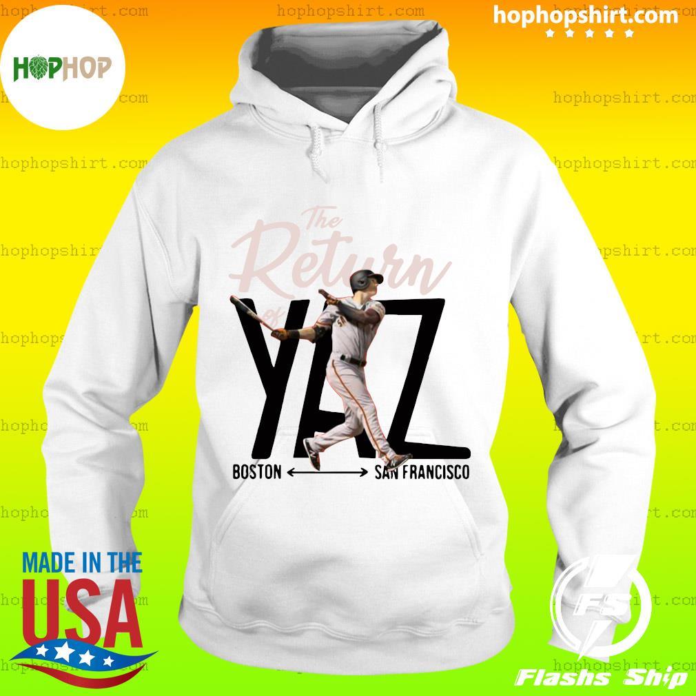 Mike Yastrzemski Yaz Boston San Francisco Shirt Hoodie