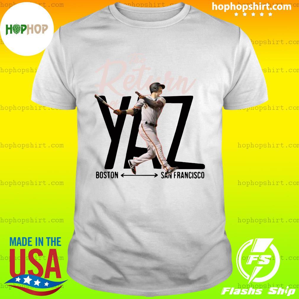 Mike Yastrzemski Yaz Boston San Francisco Shirt