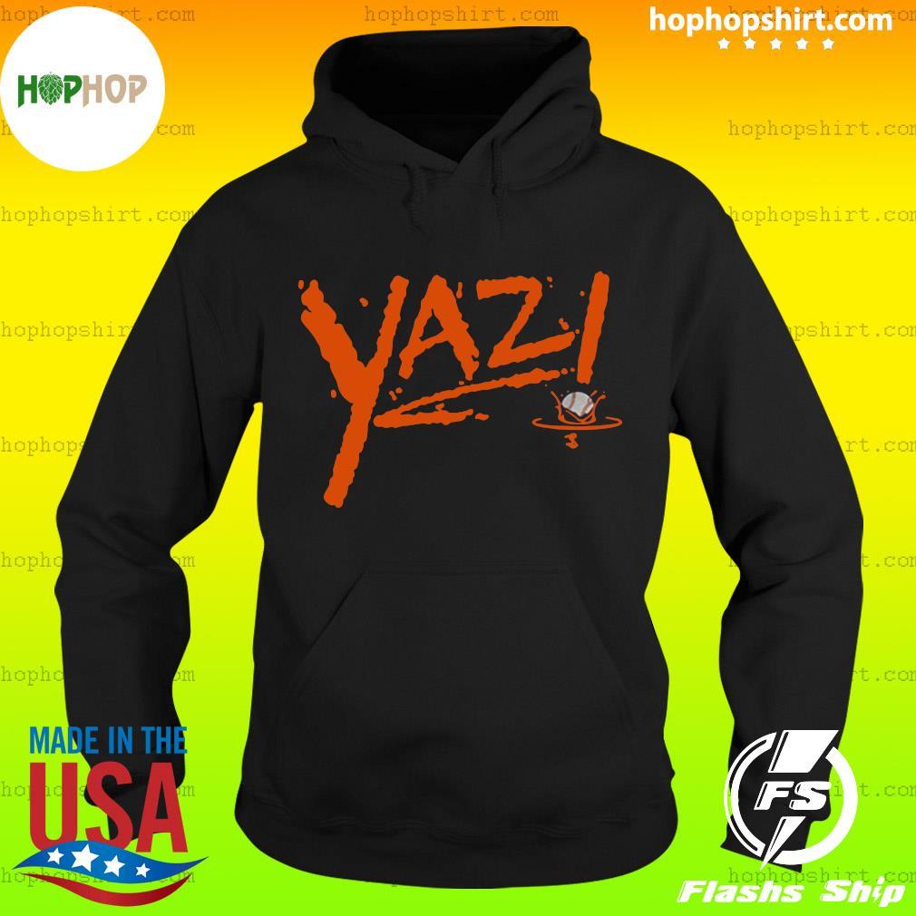 Mike Yastrzemski Yaz! T-Shirt San Francisco Hoodie