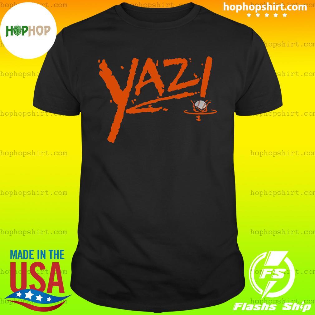 Mike Yastrzemski Yaz! T-Shirt San Francisco