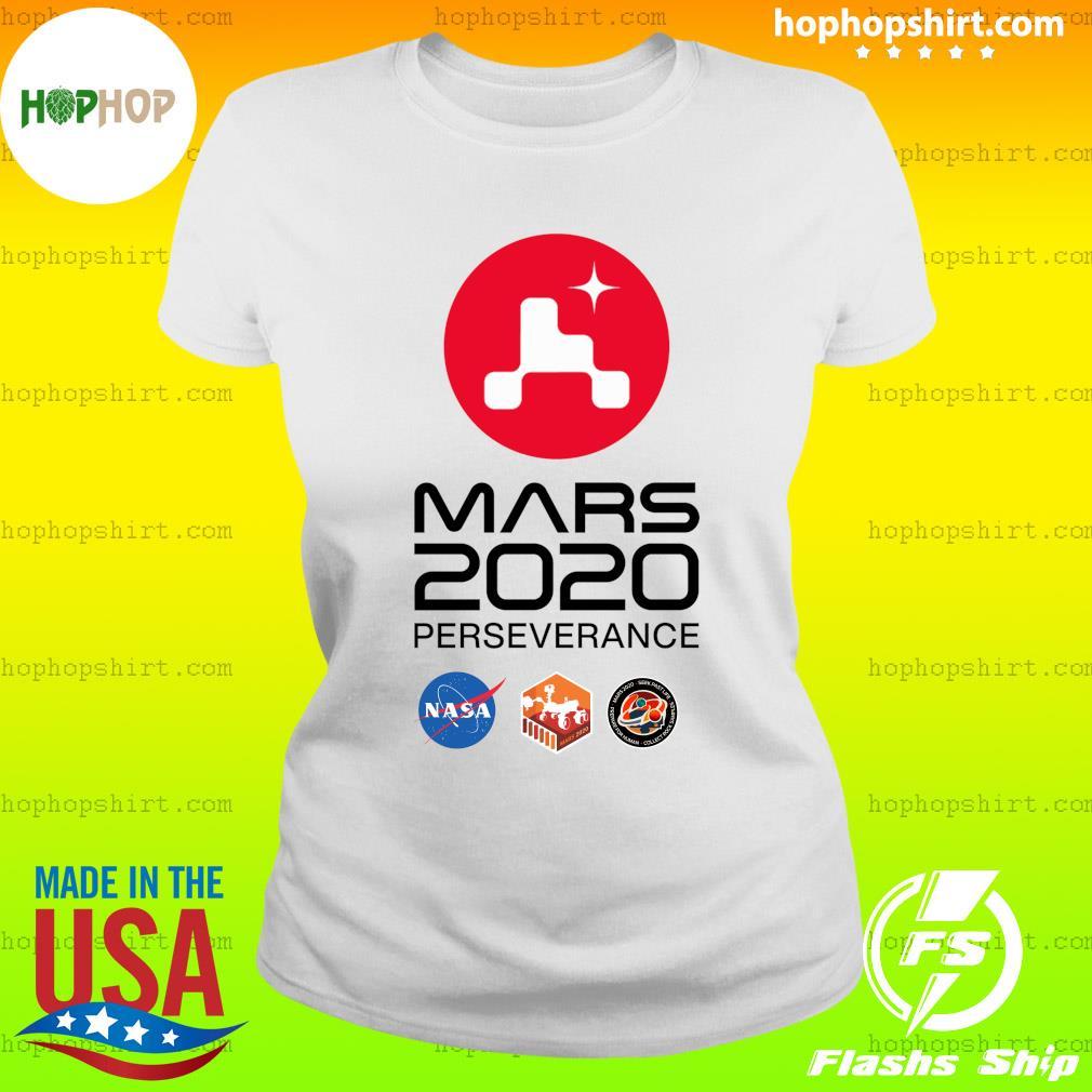 NASA Mars Rover Perseverance T-Shirt Ladies Tee