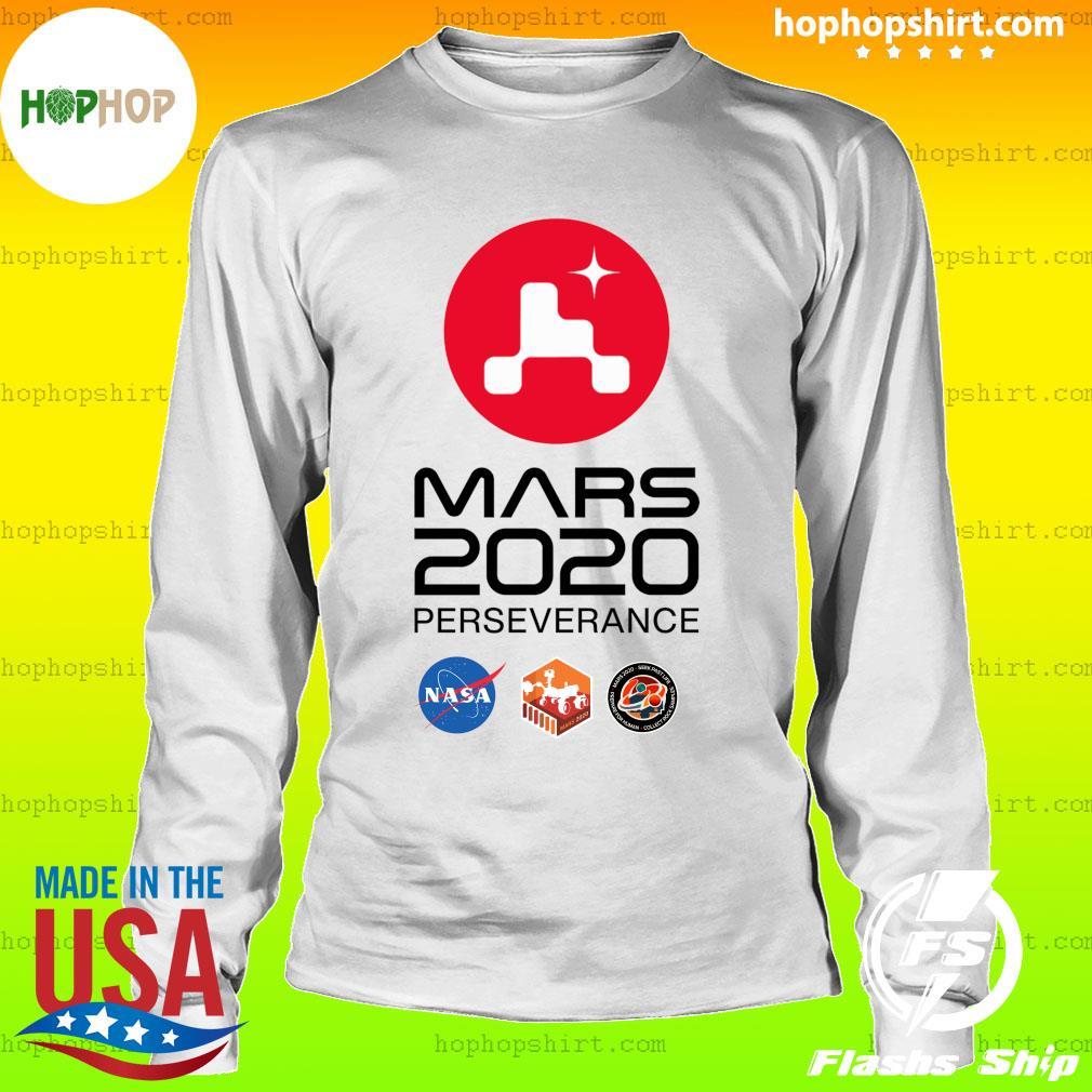 NASA Mars Rover Perseverance T-Shirt LongSleeve