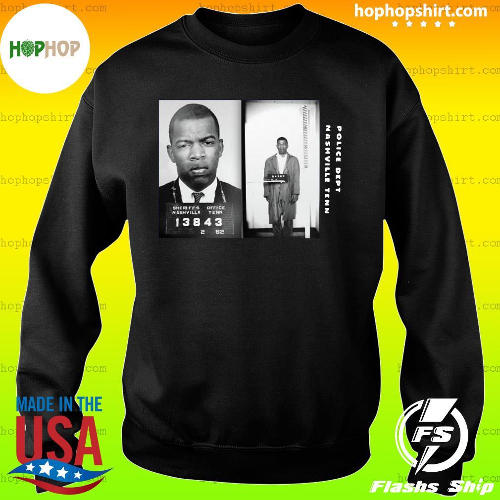 Police Dept Nashville Tenn John Lewis Civil Rights Leader John Lewis Shirt Sweater