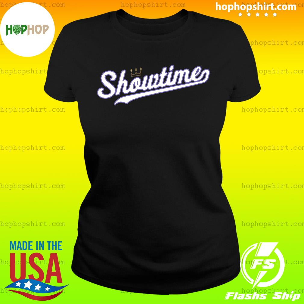 Showtime Baseball 2020 Official Shirt Ladies Tee
