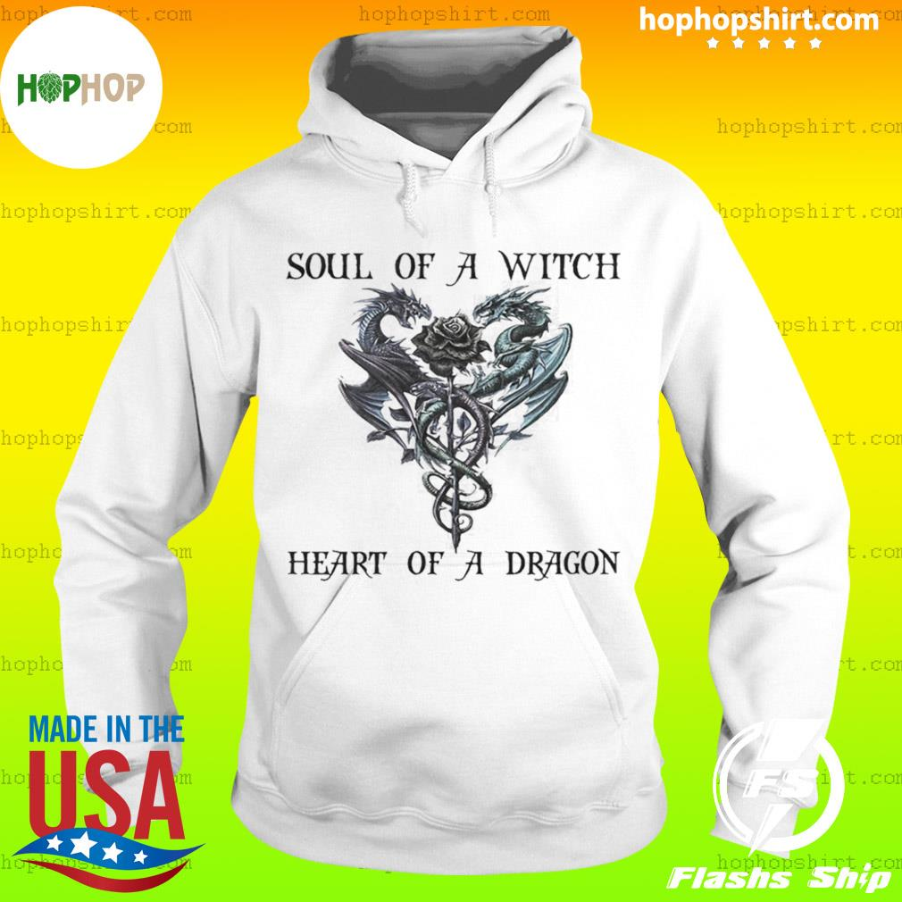 Soul of a witch heart of a dragon s Hoodie