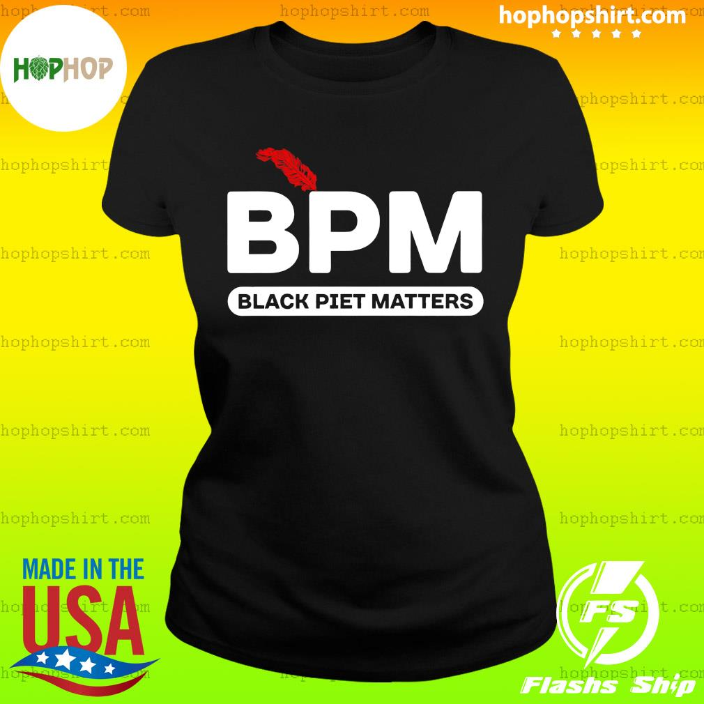 BPM Black Piet Matters Shirt Ladies Tee